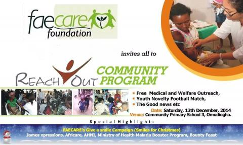 ReachOut Community Program Omudiogha